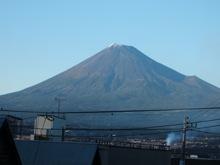 夕日があたった富士山!この日は、富士山ばかり。