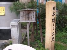 二里歩いた。品川には商店街の通り沿いに、同じような看板がたくさんある。