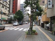 普通の住宅街を歩くので、あまり面白くない。